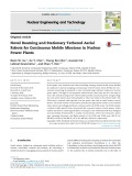Novel roaming and stationary tethered aerial robots for continuous mobile missions in nuclear power plants