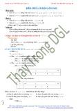 Tài liệu ôn thi THPT môn Toán lớp 12 - Phân dạng tính đơn điệu của hàm số