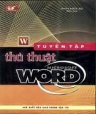 Microsoft Word - Tuyển tập các thủ thuật: Phần 1