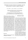 Boosted Gaussian Bayes classifier and its application in bank credit scoring
