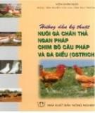hướng dẫn kỹ thuật nuôi gà chăn thả ngan pháp chim bồ câu pháp và đà điểu (ostrich) - nxb nông nghiệp: phần 1