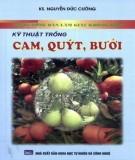 Cẩm nang hướng dẫn kỹ thuật trồng cam, quýt, bưởi: Phần 1