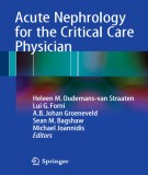 The critical care physician with the acute nephrology: Part 1