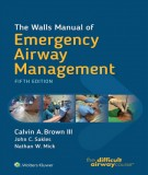 Emergency airway management and manual the wall (Fifth edition): Part 2