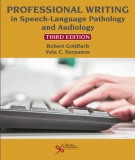Speech-language pathology and audiology with professional writing (Third edition): Part 2