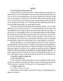 Tóm tắt Luận án tiến sĩ Kinh tế: Pháp luật về kiểm soát hành vi lạm dụng vị trí độc quyền của các doanh nghiệp tại Việt Nam