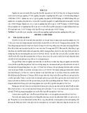 Tóm tắt Luận án tiến sĩ Kinh tế: Nghiên cứu truyền dẫn tỷ giá hối đoái đến lạm phát tại Việt Nam