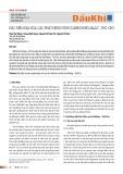 Đặc điểm địa hóa các phát hiện Hydrocarbon bể Malay - Thổ Chu