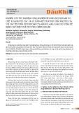 """Nghiên cứu thử nghiệm công nghiệp hệ dung dịch khoan ức chế """"KCL-Protex Sta"""" và sử dụng kết hợp hợp chất Protex Sta với các hệ dung dịch khoan CFL-AKK-KCL-PAG, KGAC bổ sung để nâng cao hiệu quả thi công giếng khoan"""