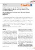 Nghiên cứu đánh giá các yếu tố ảnh hưởng và dự báo quá trình ngưng tụ lỏng xảy ra trong giếng khai thác ở mỏ khí Condensate