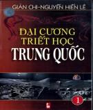 Triết học Trung Quốc - Đại cương (Tập 1): Phần 1