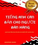 Tiếng Anh căn bản và 43 bài học tiếng Anh căn bản cho người tiếp thị bán hàng: Phần 2