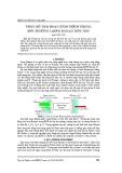 Phân bố tâm hoạt kích thích trong môi trường laser raman bơm dọc