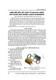 Kiểm bền kết cấu thân vỏ khoan chiến đấu trong môi trường ANSYS Workbench