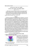 Lực quang học ba chiều trong lớp chất lưu Kerr mỏng