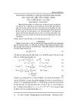 Ứng dụng nguyên lý cực đại Pontryagin trong bài toán cực tiêu tổng nhiệt lượng của thiết bị bay hạ cánh