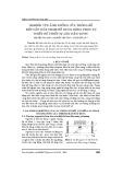 Nghiên cứu ảnh hưởng của thông số kết cấu đến tham số rung động phục vụ thiết kế thiết bị bàn đầm rung