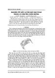 Nghiên cứu nấu luyện hợp kim titan trong lò cảm ứng chân không