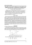 Tổng hợp luật dẫn tối ưu cho tên lửa tự dẫn trên cơ sở thông tin về tốc độ và sai lệch góc của đường ngắm