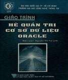 Giáo trình Hệ quản trị cơ sở dữ liệu Oracle: Phần 2