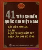 Vật liệu kim loại, ổ lăn, dụng cụ điện cầm tay, thép làm cốt bê tông - 41 tiêu chuẩn quốc gia Việt Nam: Phần 1