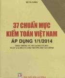 Kiểm toán Việt Nam - 37 chuẩn mực áp dụng từ 1/1/2014: Phần 2