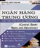 Vai trò và nghiệp vụ của các Ngân hàng Trung ương: Phần 1