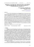 Ảnh hưởng của mức độ chín và điều kiện trích ly bằng phương pháp ngâm trích đến hiệu quả thu nhận polyphenol từ vỏ chuối xiêm (Musa paradisiaca L.)