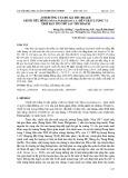 Ảnh hưởng của độ già thu hoạch chuối tiêu hồng (Musa paradisiaca L.) đến chất lượng và thời hạn tồn trữ sau thu hoạch