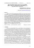 Khả năng kháng nấm Fusarium solani gây bệnh trên cà chua sau thu hoạch của dịch chiết lá và hạt xoan (Melia azedarach)