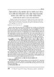 Ảnh hưởng của nhiệt độ và thời gian hóa già đến độ dẫn điện của hợp kim BCuNi3Si dùng cho chế tạo các tiếp điểm điện