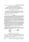 Tính toán ổn định hệ thanh theo phương pháp phần tử hữu hạn, kết hợp trong bài toàn tính bền kết cấu