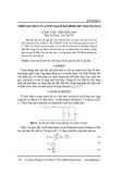 Thiết kế chấn tử anten mạch dải hình chữ nhật băng X
