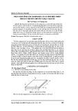 Phân tích tĩnh tấm Composite có cơ tính biến thiên theo lý thuyết chuyển vị bậc 3 đầy đủ