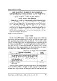Giải pháp xử lý tín hiệu số trong thiết kế khối khuếch đại trung tần điện đài vô tuyến P-625