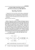 Giải pháp thiết kế hệ thống kéo giãn đốt sống cổ sử dụng luật điều khiển PID