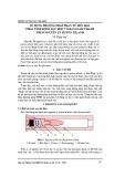 Sử dụng phương pháp phần tử hữu hạn phân tích động lực học vỏ đạn giảm thanh theo nguyên lý piston-xilanh