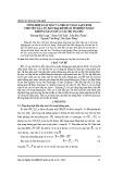 Tổng hợp luật dẫn và thuật toán lập lệnh cho tên lửa tự dẫn hai kênh có tính đến xoắn không gian giữa các hệ tọa độ