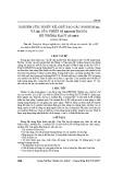 Nghiên cứu, thiết kế, chế tạo các Module БА và ЦС của thiết bị КБ163П trong hệ thống KACY 3P-60YЭ