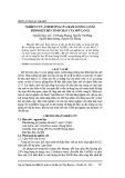 Nghiên cứu ảnh hưởng của hàm lượng canxi hydroxit đến tính chất của mỡ canxi