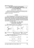 Ứng dụng giải thuật Backstepping xây dựng thuật toán điều khiển chuyển động cho UAV dạng Tri-rotor