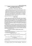 Nghiên cứu phương pháp giải mã Golay bằng thuật toán vetcan