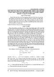 Một phương pháp tổng hợp bộ điều khiển cho lớp đối tượng phi tuyến bất định hàm trên cơ sở điều khiển trượt và mạng nơ ron RBF