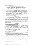 Tổng hợp bộ quan sát trạng thái trong hệ thống điều khiển phương tiện ngầm