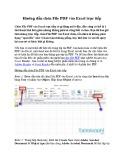 Hướng dẫn chèn file PDF vào Excel trực tiếp