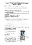 Bài giảng Mô đun sửa chữa và bảo dưỡng hệ thống bôi trơn và làm mát