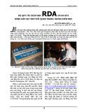 Bộ quy tắc biên mục RDA đã ra đời đánh dấu sự thay đổi quan trọng trong biên mục