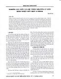 Nghiên cứu sấy cá lóc theo nguyên lý sấy bơm nhiệt kết hợp vi sóng