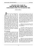 Cần thiết phải có một bộ tiêu đề đề mục Tiếng Việt trong ngành Thông tin Thư viện Việt Nam