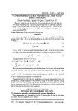 Về phương pháp giải bài toán động lực học ngược robot song song